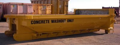 Washout Dumpster
